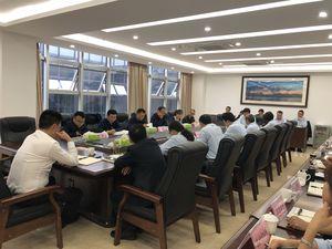 市国资委杨德志书记一行调研新葡亰496公司