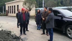 发展公司董事长彭晓宇带队调研 交流干部周转房装修建设情况